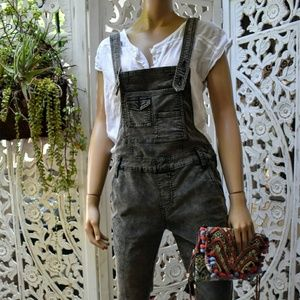 Free People corduroy overalls size 26